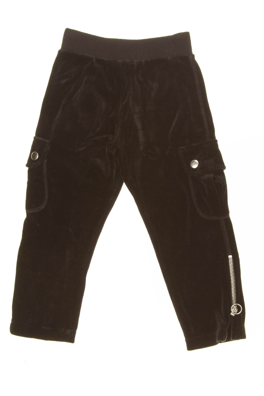 Rykiel Enfant - Black Pants with Zippers - 4A