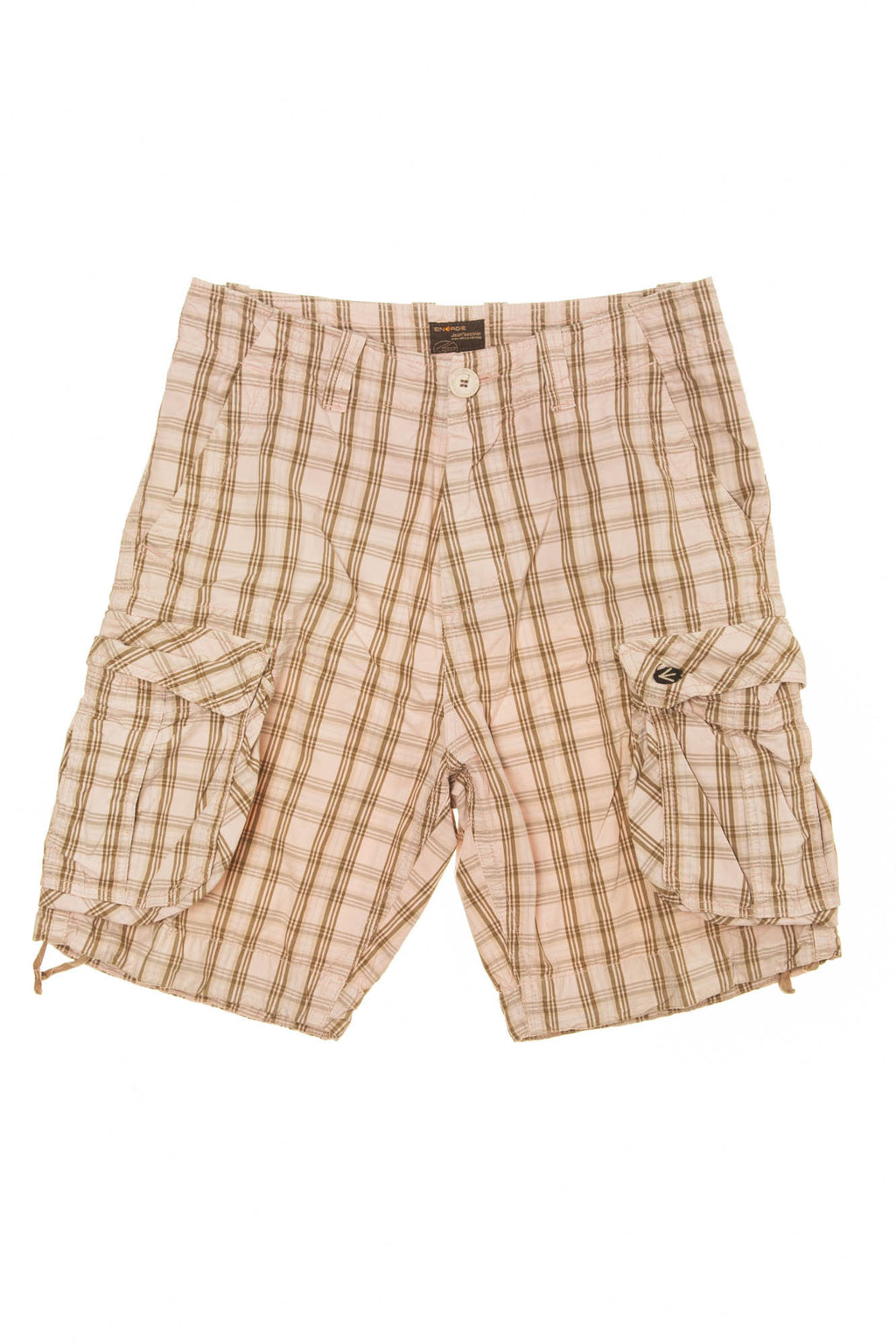 Energie - Plaid Cargo Shorts -