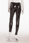 Original Alexander McQueen - Black Sequin Pants - IT 40