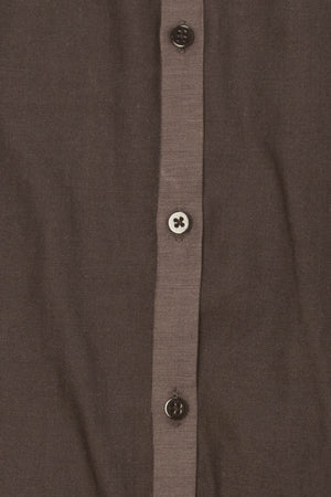 Calvin Klein - Dark Gray Body Fit Button Up - L