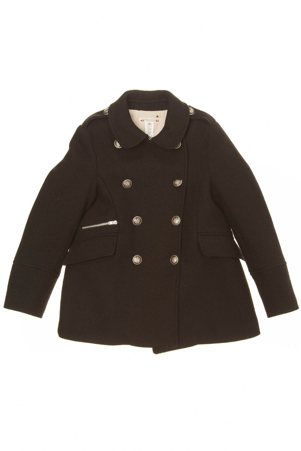 Bonpoint - Black Peacoat - 10