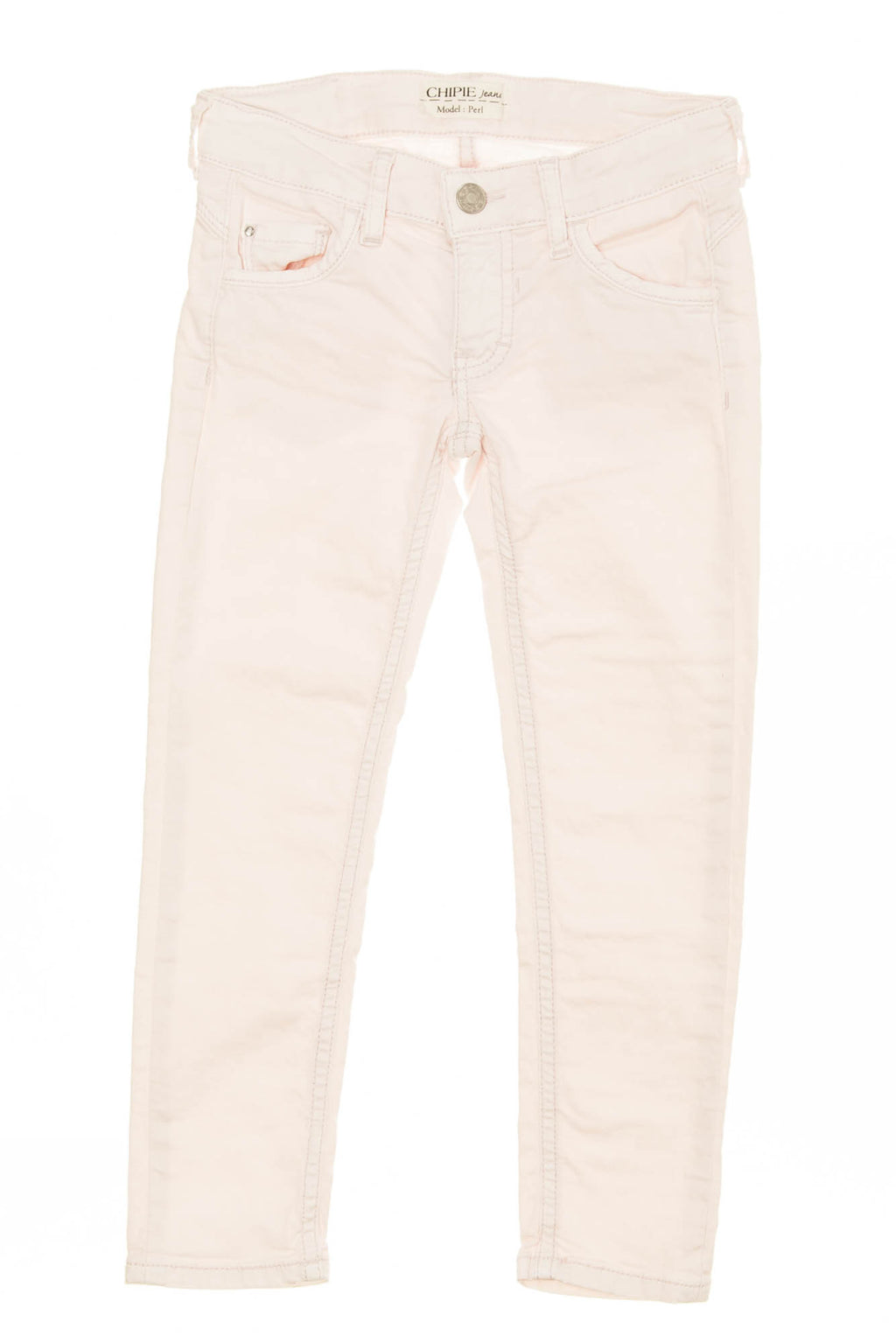 "Chipie Jeans - ""Perl"" Light Pink Jeans - 6"