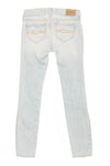 Abercrombie - Light Blue Ripped Skinny Jeans - 8