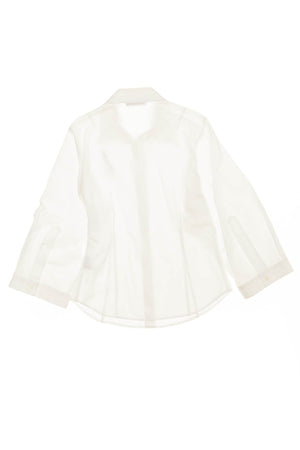 Dsquared2 - White Long Sleeve Button Up with Lipstick - 42
