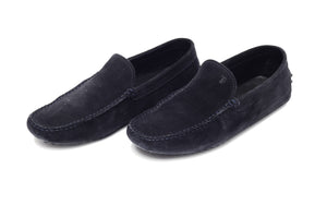Tod's  - Black Suede Driving Shoes - 8 1/2M