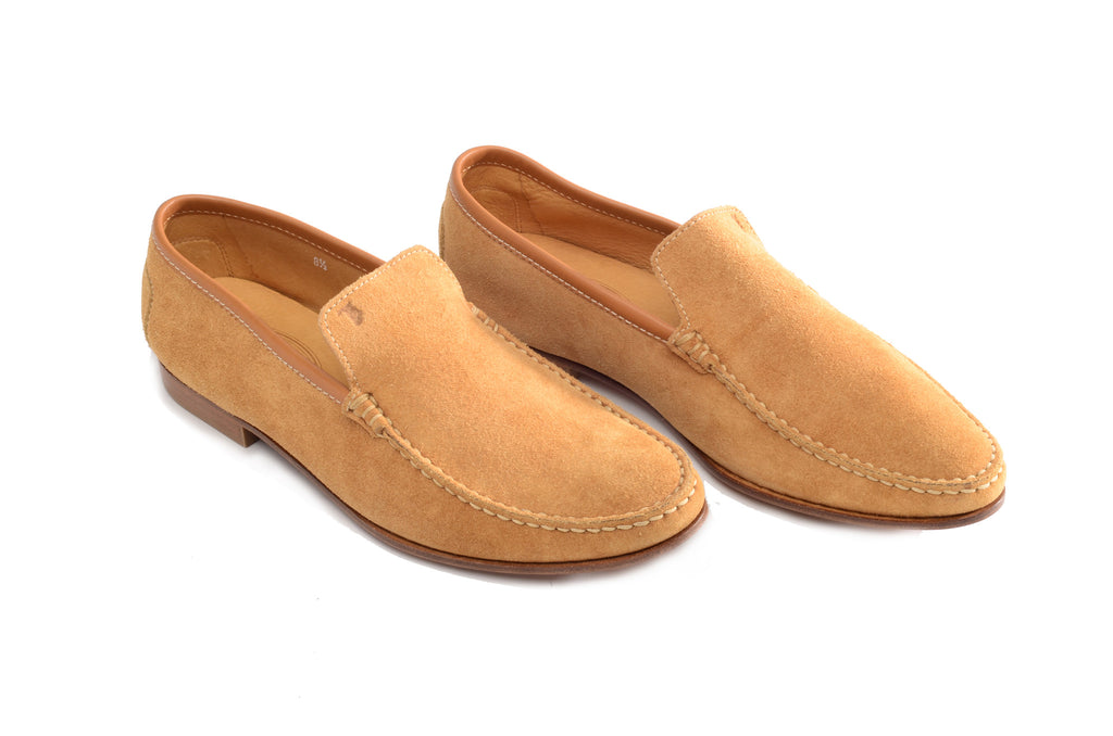 Tod's  - Camel Suede Shoe - 8 1/2M