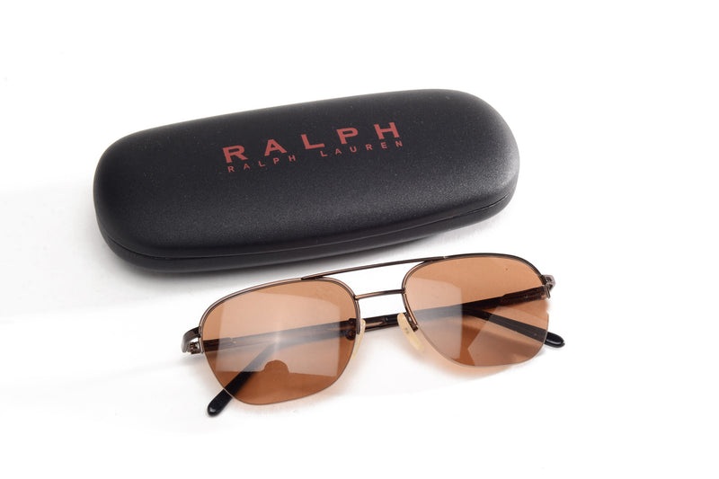 Ralph Lauren - Brown Tinted Sunglasses - One Size