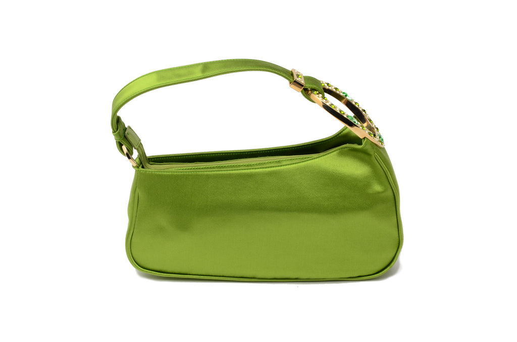 Sergio Rossi - Green Bag with Jewels -