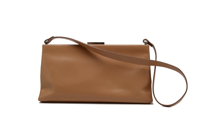 Calvin Klein - Light Brown Clutch with Strap