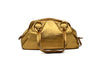 Chloe - Gold Leather Tote