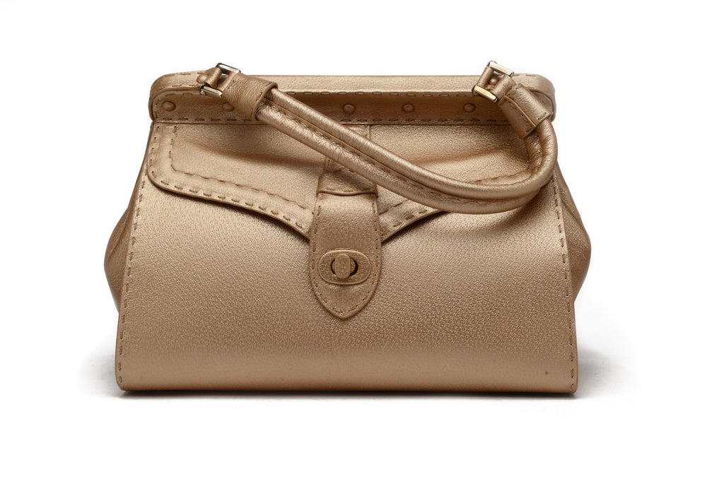 Valentino - Pearlized Beige Color Large Tote with Handle