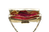 Cesare Paciotti - Gold Clutch with Chain Strap - One Size