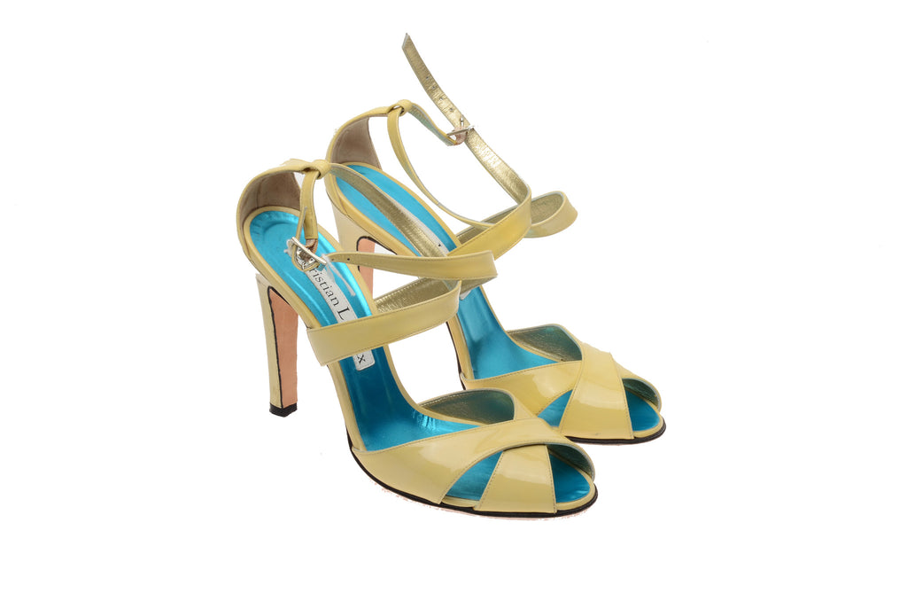 Christian Lacroix - Beige Strappy Sandals - IT 39 1/2