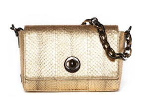 Blumarine - New with Tags Gold Shoulder Bag