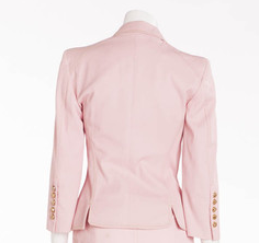 Versace - 2PC Baby Pink Blazer & Skirt Suit - IT 40