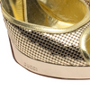 Iconic Tom Ford for Gucci - Golden Peep Toe Platform - US 8