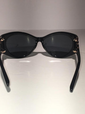 Agent Provocateur - Black Sunglasses with Gold Detail
