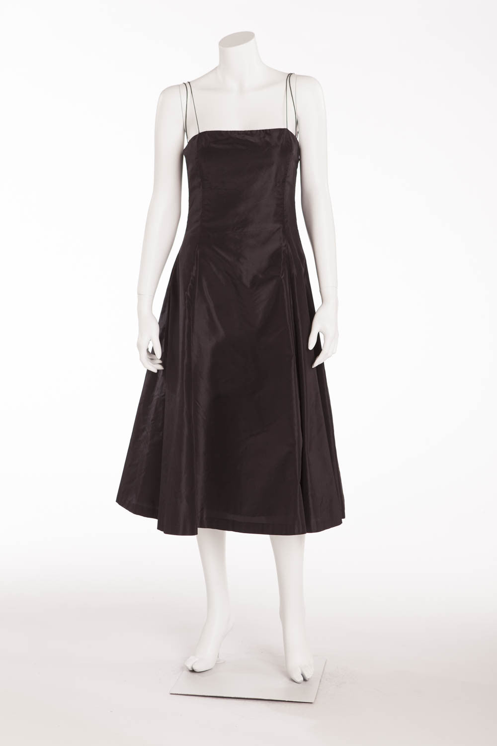 Ralph Lauren - Black Silk Dress with Slip - US 8