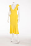 Valentino - Yellow Midi Dress  - IT 40