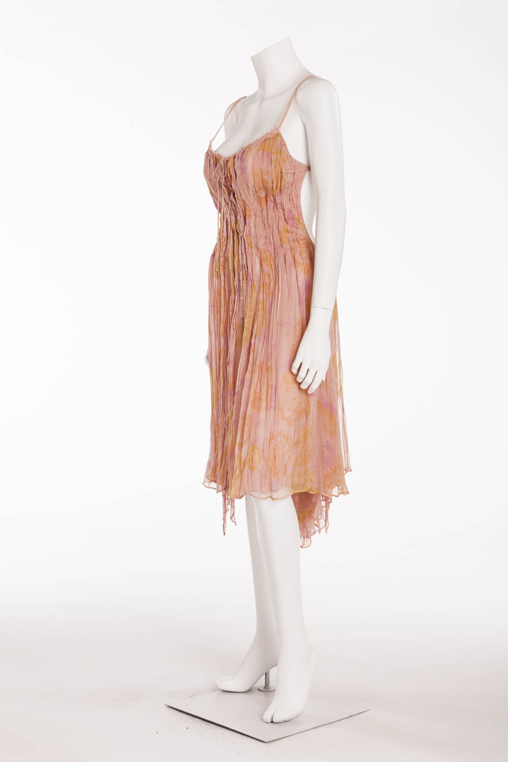 La Perla - Peach Lace Dress - IT 42