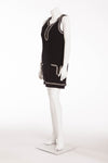 Chanel - Black & White Sleeveless Dress - FR 38