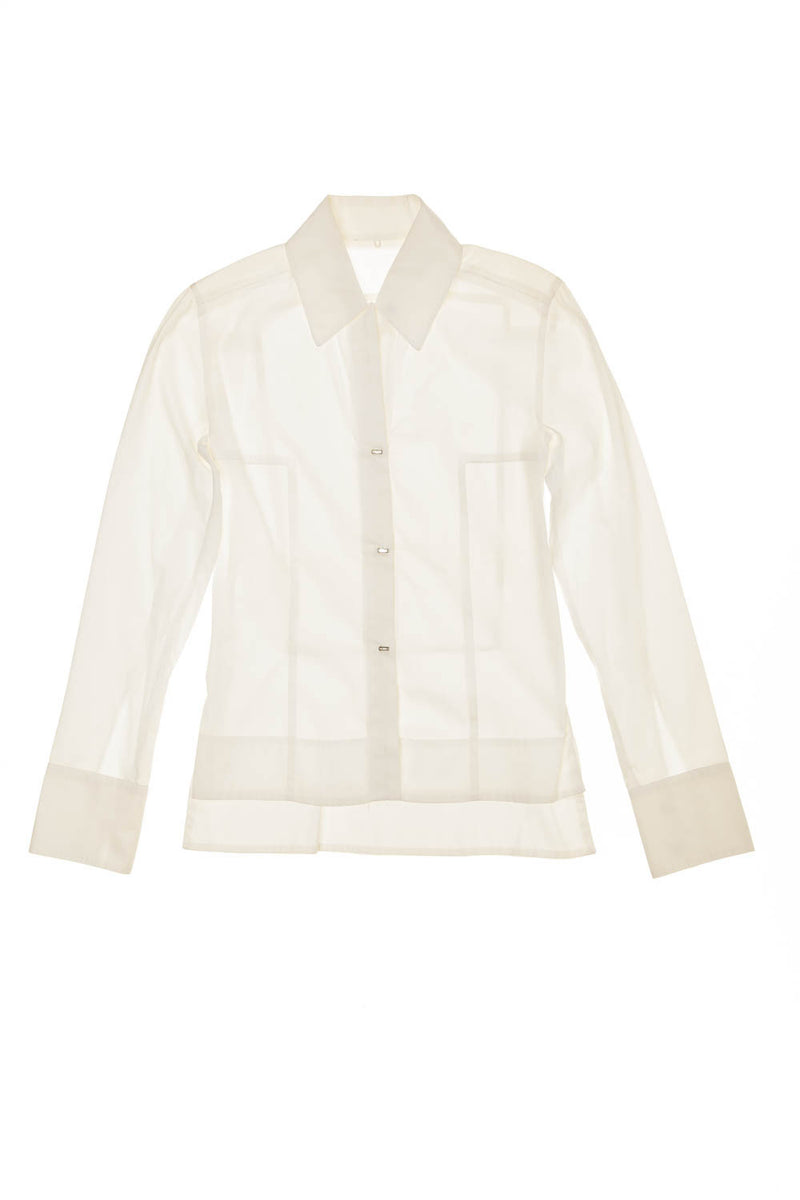 Fendi - White Button Down Top - IT 40