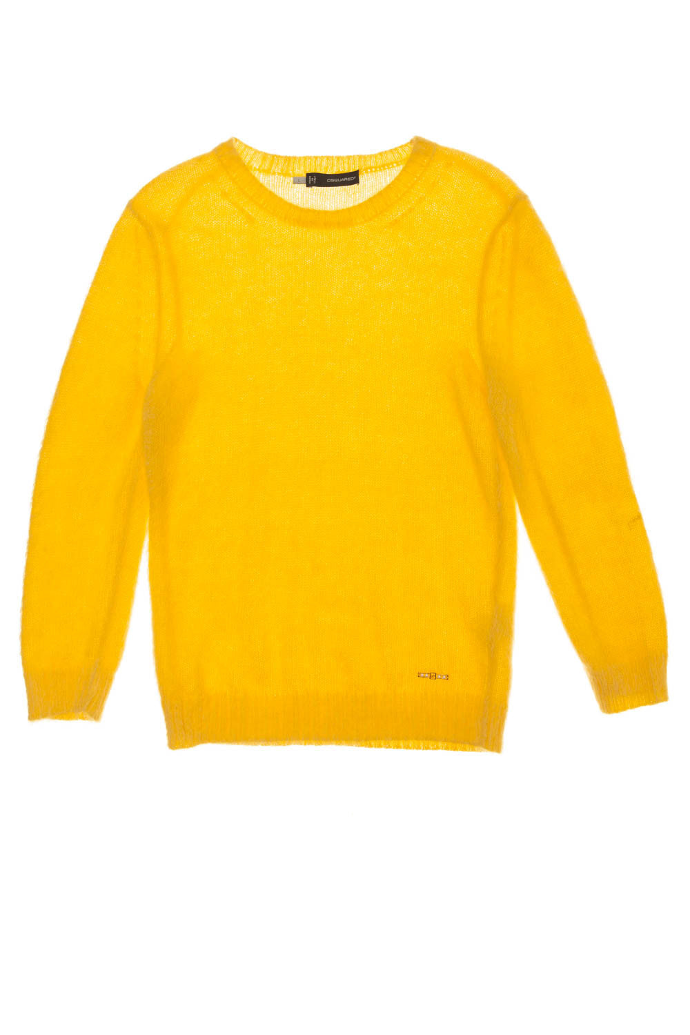 Dsquared2 - As Seen on the 2012 Fall Runway Collection, look 4 - Yellow Sweater - L