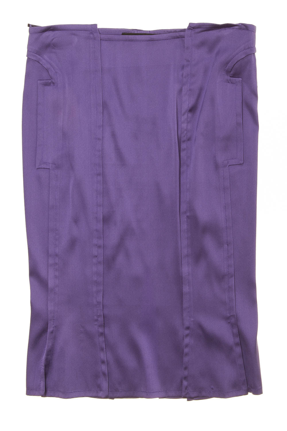 Iconic Tom Ford For Gucci - Purple Pencil Skirt - IT 40