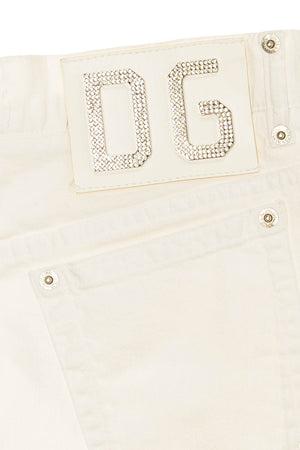 Dolce & Gabbana - White Jean Skirt - IT 42
