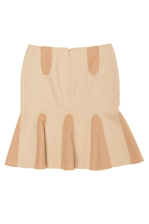 Original Alexander McQueen - Pink Flare Mini Skirt - IT 38