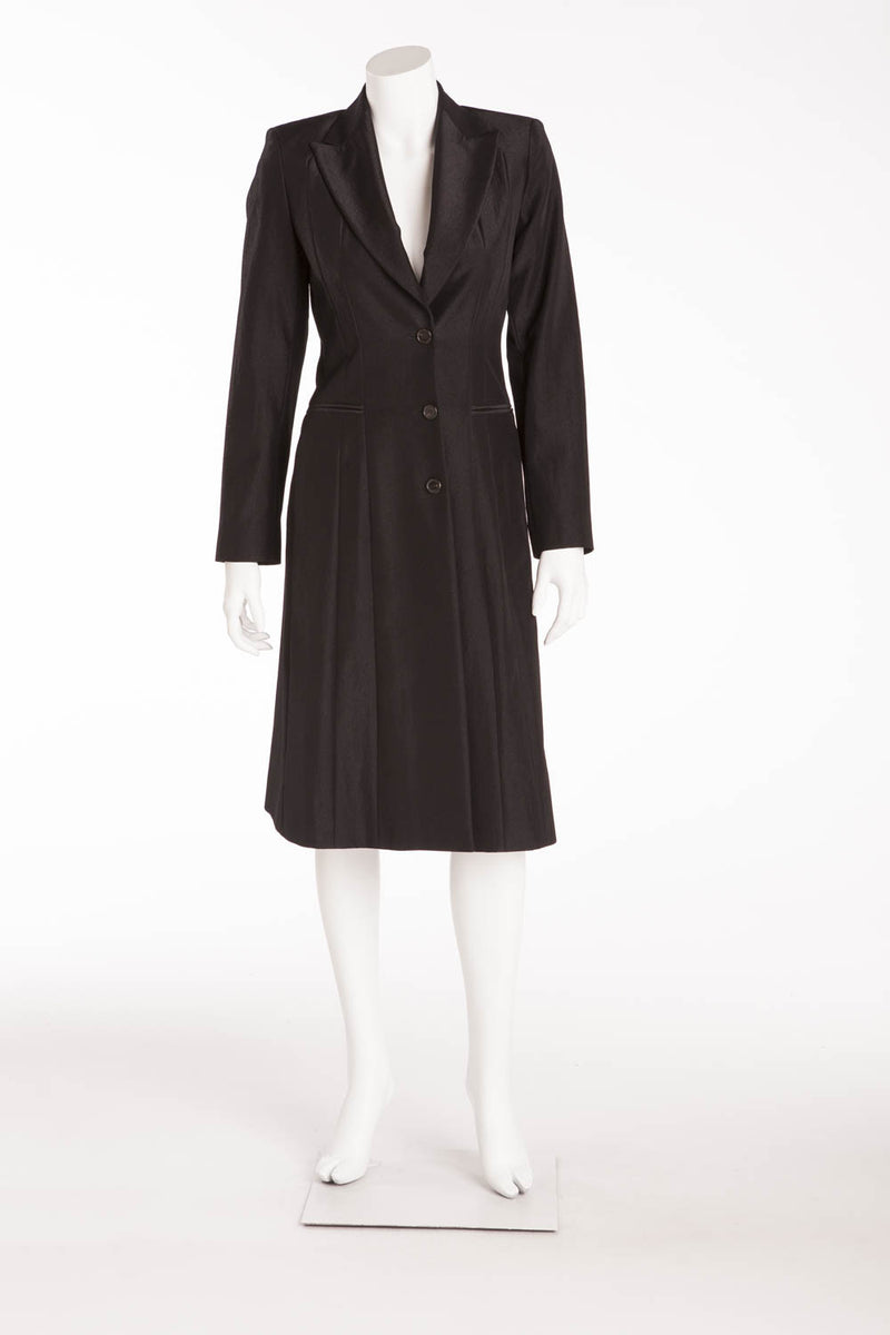 Narciso Rodriguez - Black Long Sleeve Coat