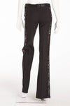 Dolce & Gabbana  - Black Pants with Lace Sides - IT 40