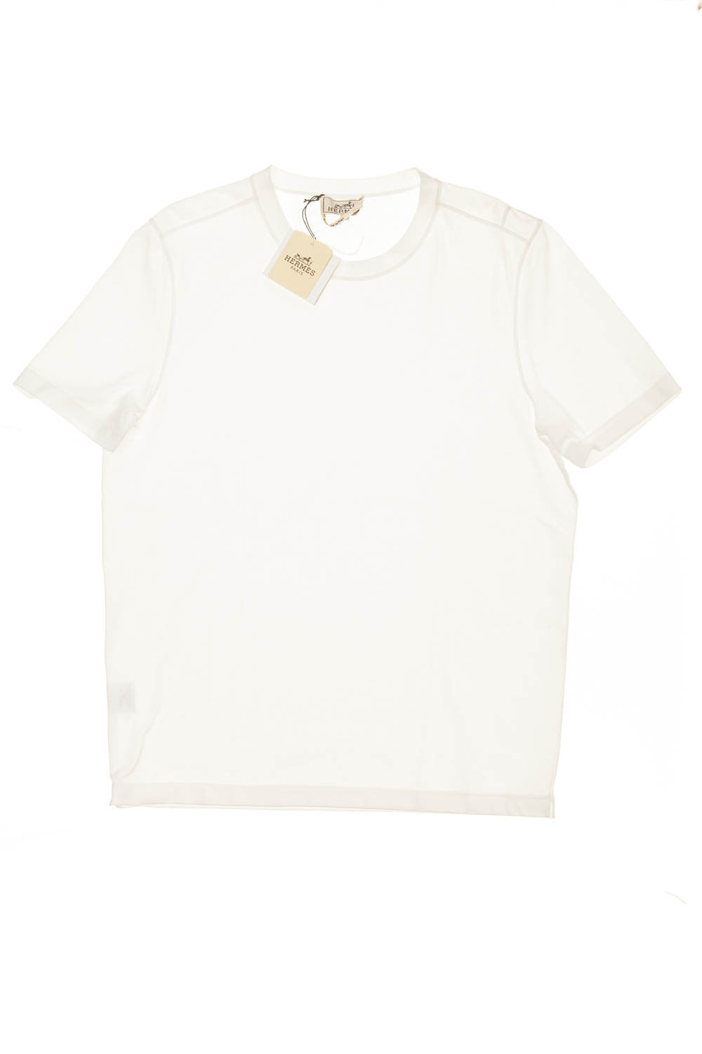 Hermes - New With Tags White Tee Shirt - Large