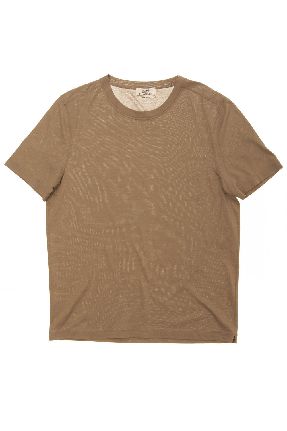 Authentic Hermes - Beige Tee Shirt - L