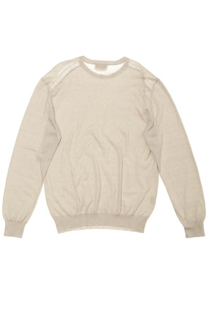 Authentic Hermes - Beige Long Sleeve Shirt - XL