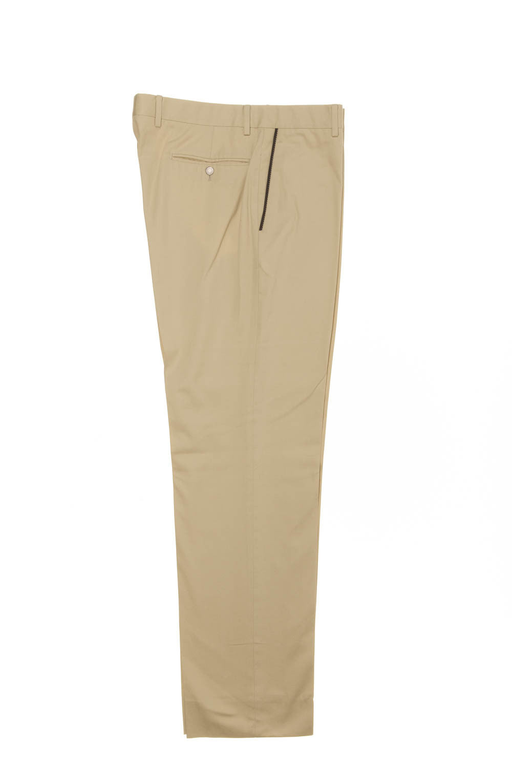 Hermes - Khaki Colored Dress Pants - IT 42