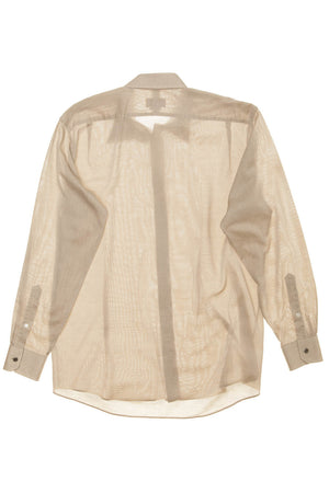 Authentic Hermes - Beige Men's Dress Shirt - IT 44