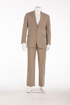 Authentic Hermes - 2PC Khaki Colored Suit - IT 54