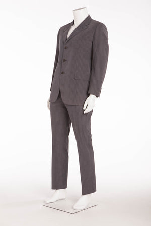 Authentic Hermes - 2PC Grey Suit - Fr 54