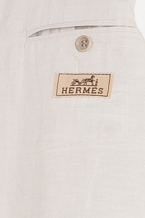 Authentic Hermes - 2PC Light Blue Suit - IT 54