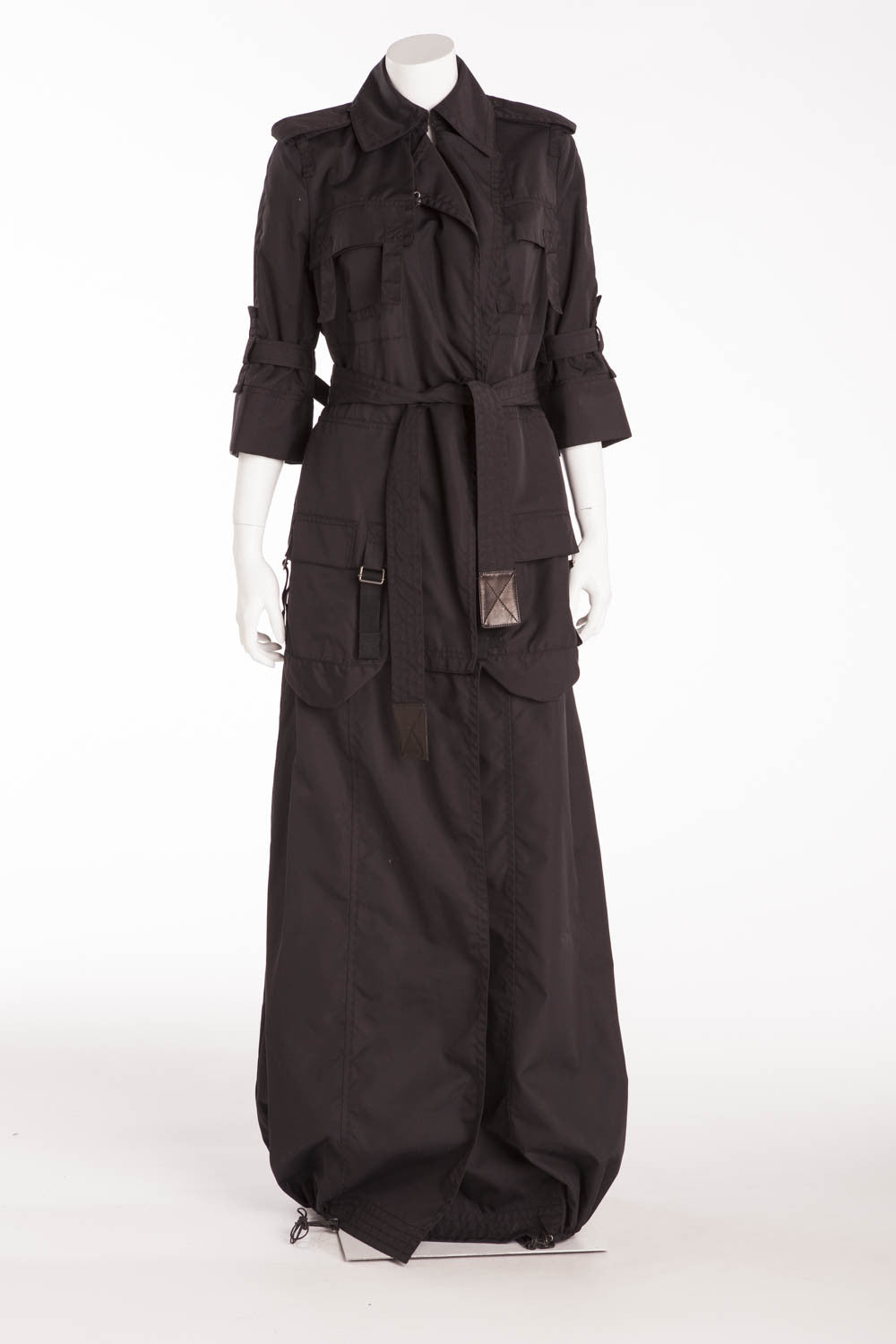 Kaufman Franco - Black Long Trench Coat - IT 44