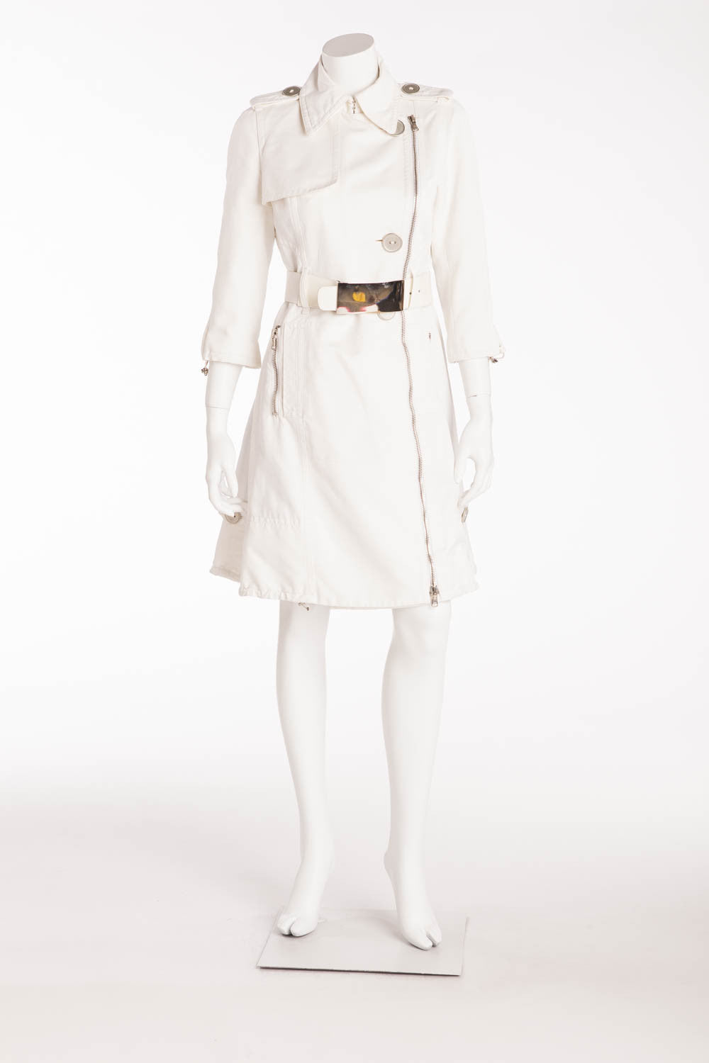 Kaufman Franco - White Trenchcoat - IT 44