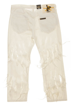 Vivienne Westwood - New With Tags White Ripped Jeans - US 28