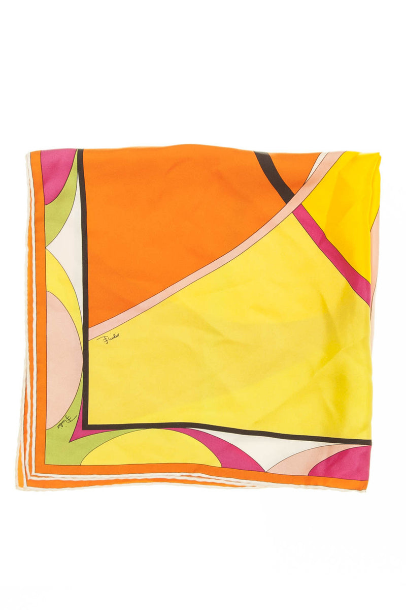 Emilio Pucci - Multi Color Scarf - One SIze