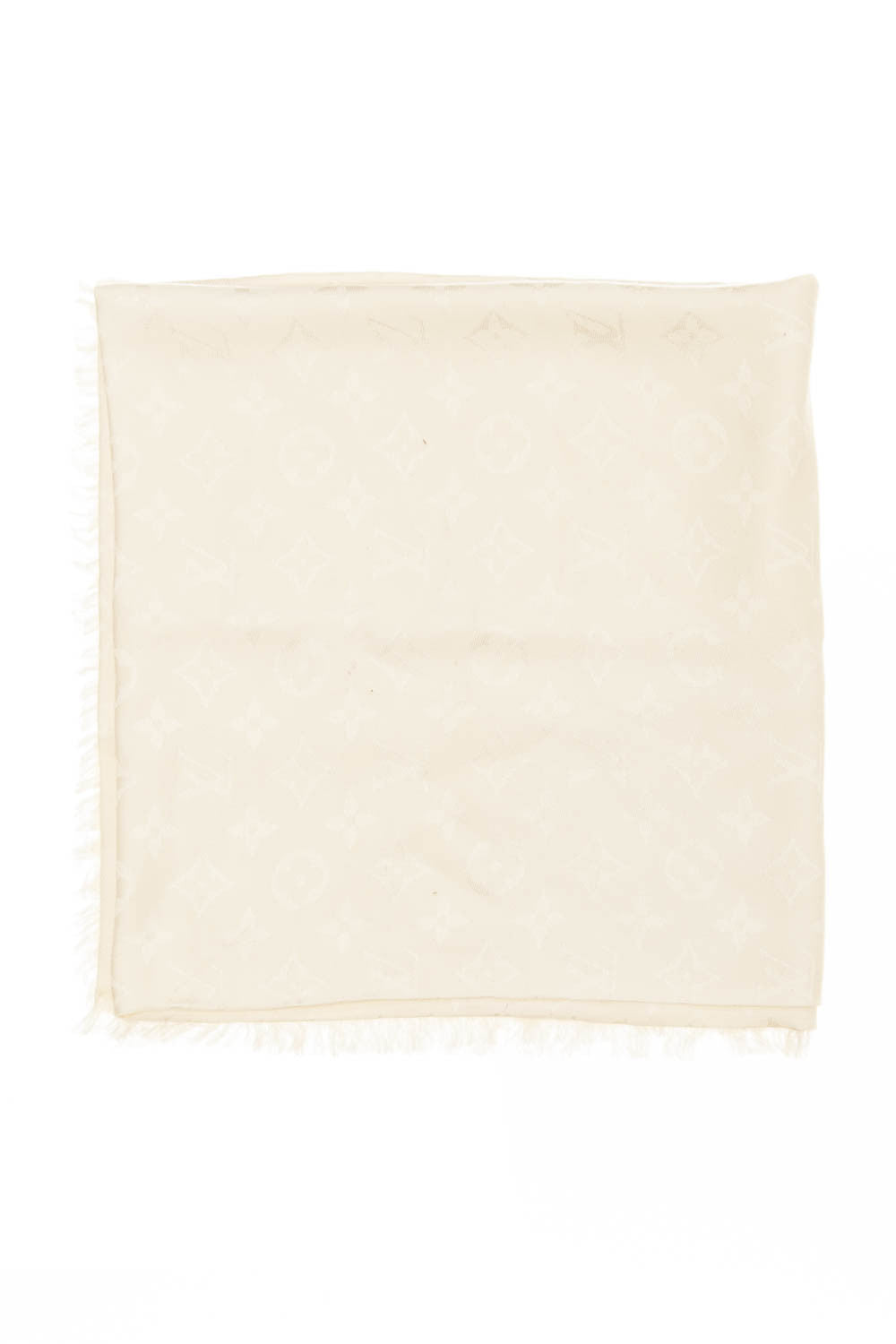Louis Vuitton - White Scarf - One Size