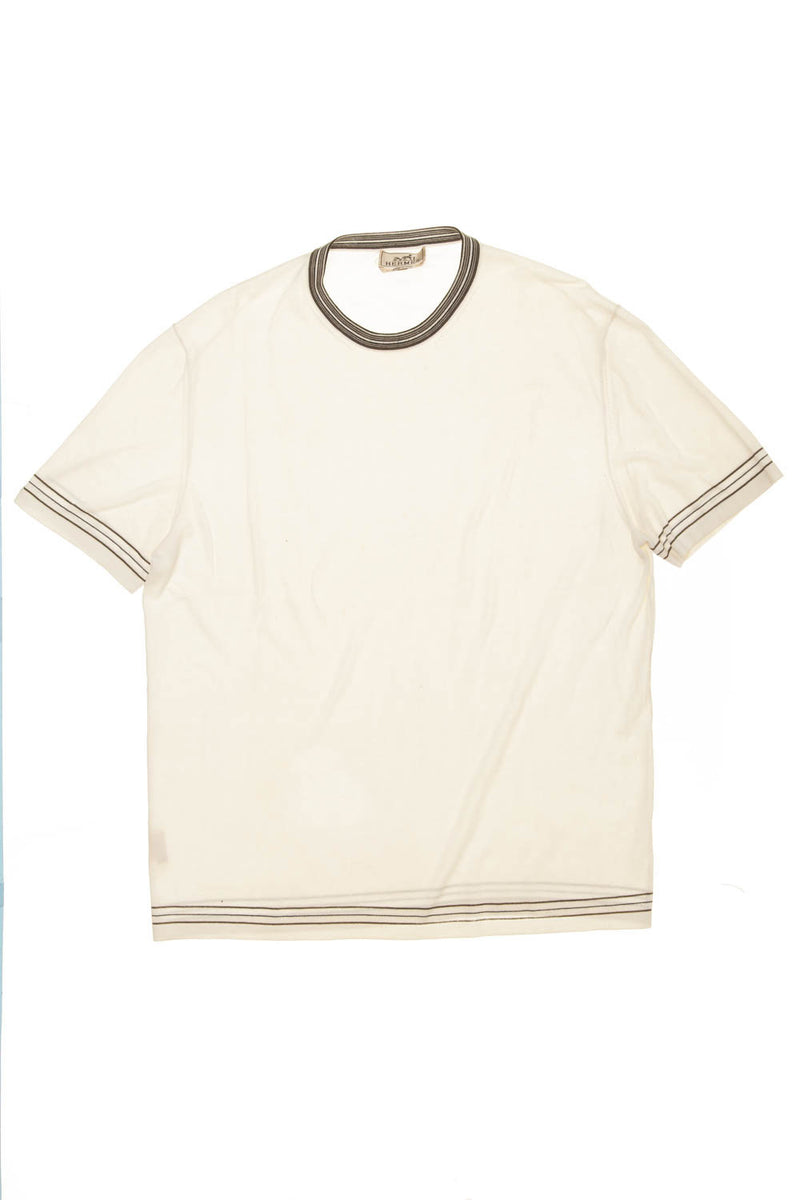 Hermes - Off White Mens TShirt - XL