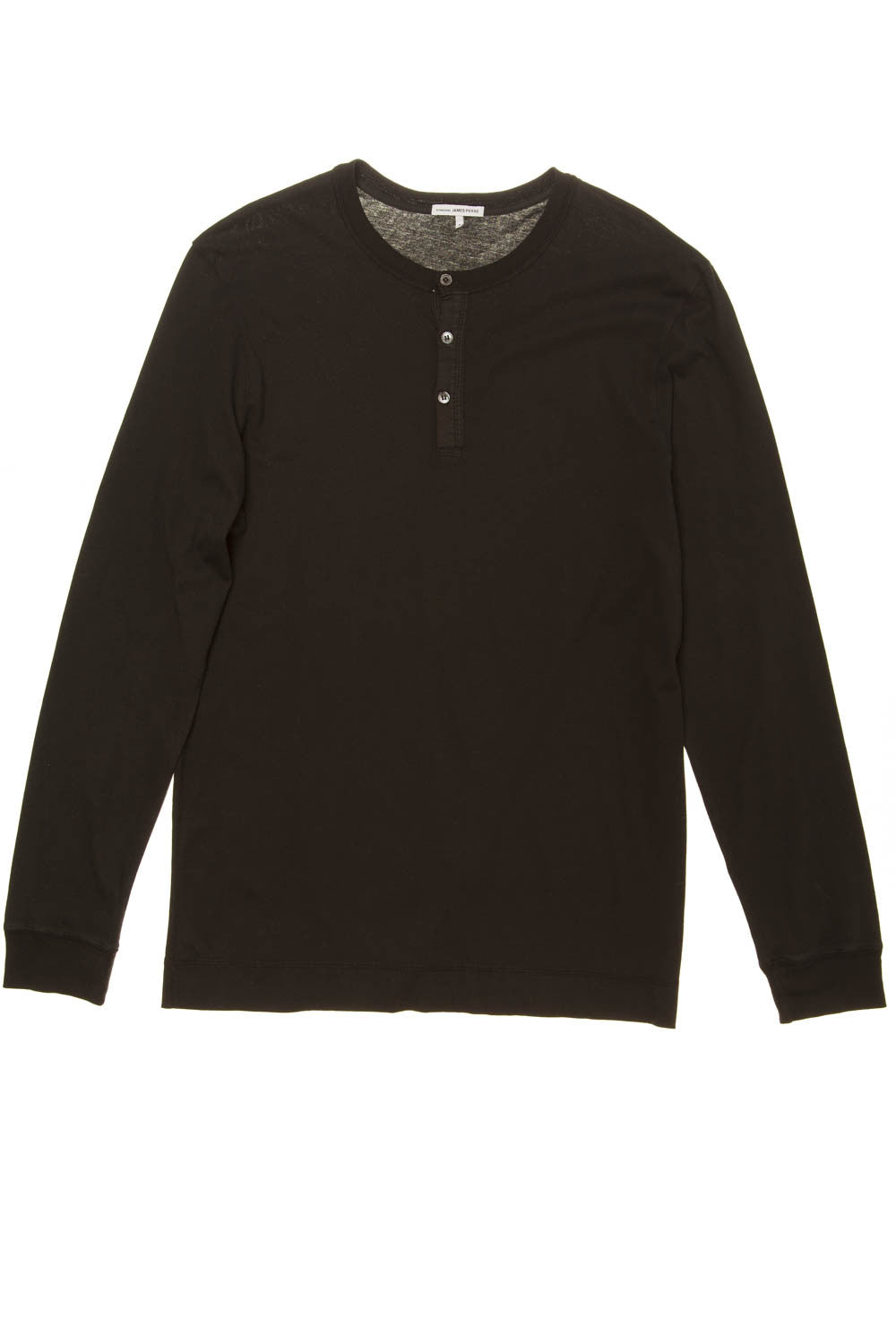 James Perse - Long Sleeve Black Shirt with Buttons - US 3