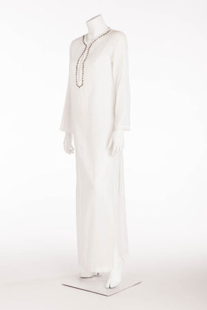 Costume National - White Cotton Long Tunic