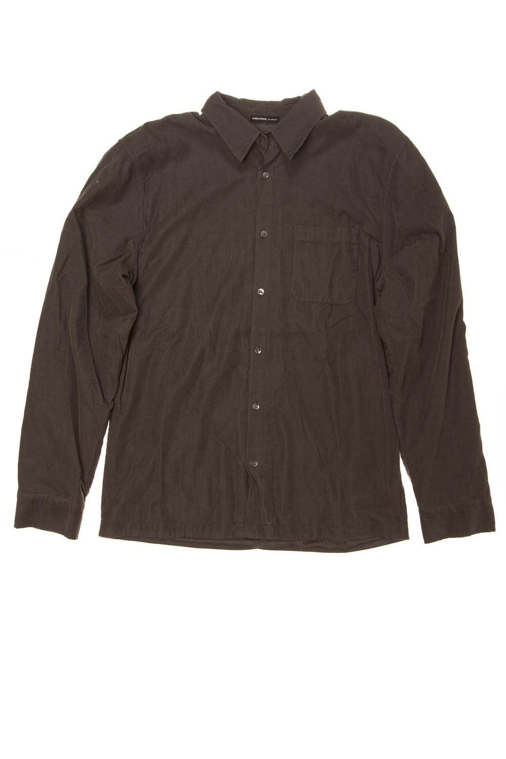 James Perse - Gray Long Sleeve Button Down - US 3