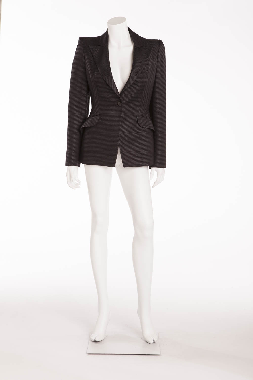 Original Alexander McQueen - Black Blazer - IT 42
